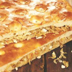 Пиріг з квашеною капустою пять простих покрокових рецептів