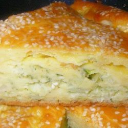 Заливний пиріг з капустою на сметані пять простих покрокових рецептів